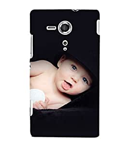 printtech Cute Baby Back Case Cover for Sony Xperia SP::Sony Xperia SP M35h