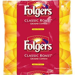 Coffee Filter Packs, Classic Roast, .9 oz, 160/Carton