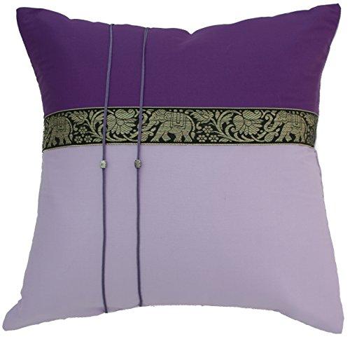 Avarada Elephant Throw Pillow Cover Decorative Sofa Couch