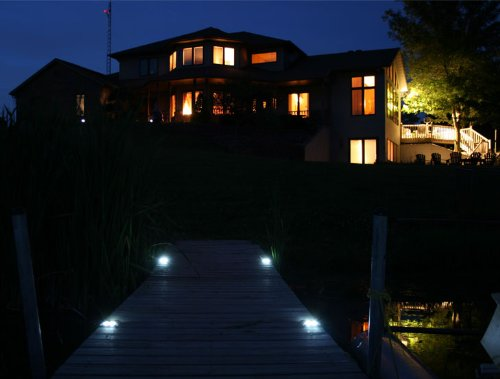 LakeLite Marine Grade Solar LED Dock/Deck Pathlight
