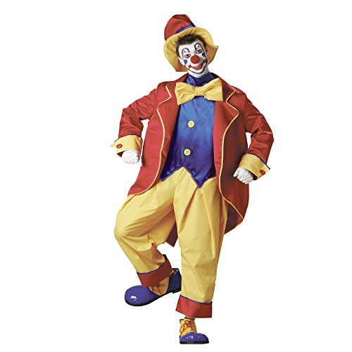 Adult Big Top Clown Costume, Large 42-44