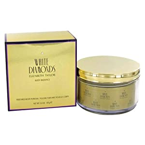 White Diamonds By Elizabeth Taylor For Women, Body Powder, 5.2-Ounce