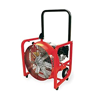 "Supervac Gas PPV Fan with 4 Hp Honda Engine, 16"" Blade Diameter (Pack"
