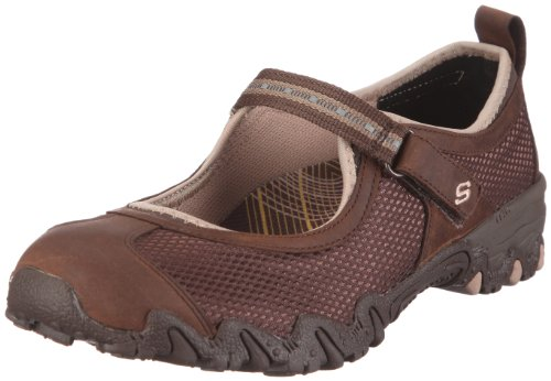 Skechers Women's Compulsions Hitchhiker Ballerina Brown UK 5