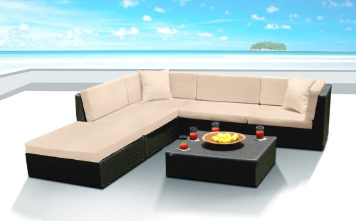 Outdoor Patio Wicker Furniture Sofa Sectional