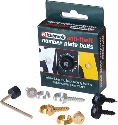 richbrook-anti-robo-de-exterior-de-coche-matricula-tornillos-de-fijacion-chex