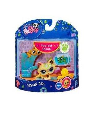 Buy Low Price Hasbro Littlest Pet Shop Fanciest Pets Series 1 Figure Kitten (B004FRD5LU)