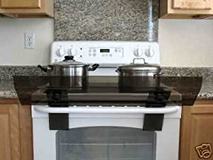Totshield Stove Guard for Stoves with Control Knobs Located in the Back (Usually Electric Stoves)