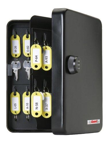 KeyGuard SL-8548 Combination Key Cabinet With Black 3-Dial Combi-Cam - 48 Hook