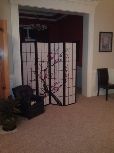 Why Choose Black 4 Panel Plum Blossom Screen Room Divider