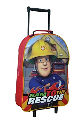 Trade Mark Collections Fireman Sam Wheeled Bag from Trade Mark Collections