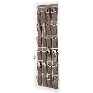 Click Here For nice Size Whitmor 6351-1253-JAVA Fashion Color Organizer Collection Over-the-Door Shoe Organizer, Java