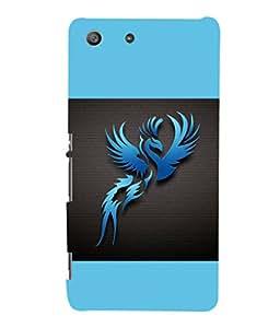 printtech Phoenix Simple Back Case Cover for Sony Xperia M5 Dual E5633 E5643 E5663:: Sony Xperia M5 E5603 E5606 E5653