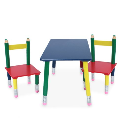 Tavolo per bambini con due sedie - Tavolino con sedie per bambini ...