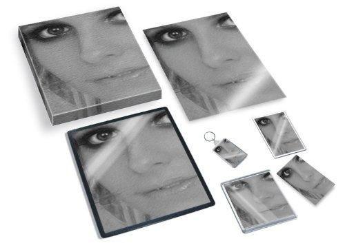 SARAH MICHELLE GELLAR - Original Art Gift Set #js001 (Includes - A4 Canvas - A4 Print - Coaster - Fridge Magnet - Keyring - Mouse Mat - Sketch Card) #js010