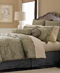 "Martha Stewart Collection ""Sand Dollar"" 24-Piece Well Decorated Bedroom, Queen"