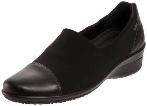 ECCO Women's Corse GTX Slip-On Loafer,Black,42 EU/11-11.5 M US