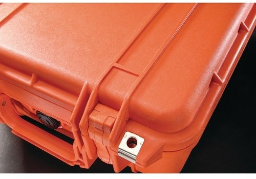 Pelican - 1400 Case (Orange) - Pelican - 1400 Case (Orange) Watertight Crushproof & Dustproof Open Cell Core With Solid Wall Design Easy-Open Double Throw Latches O-Ring Seal Automatic Pressure Equa
