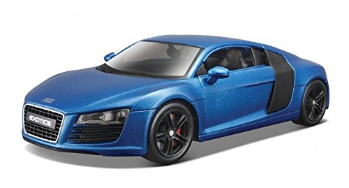 Audi R8 Satin Metallic Blue