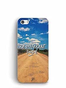 YuBingo Be Different Dude Designer Mobile Case Back Cover for Apple iPhone SE
