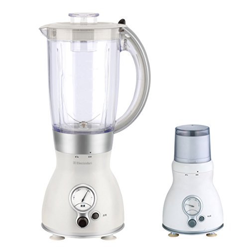 PHY 1.5L 3-speed Multi-function Countertop Blender with Glass Jar & Optional Coffee Grinder, White