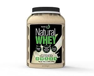 Bodylogix Natural Whey Protein Nutrition Shake, Natural Vanilla Bean, 1.85 Pound