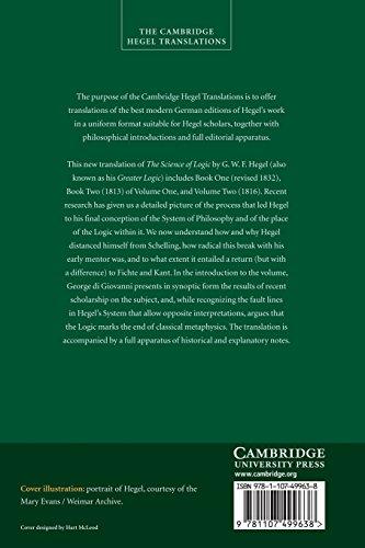 Georg Wilhelm Friedrich Hegel: The Science of Logic (Cambridge Hegel Translations)