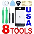 Replacement iPhone 3GS LCD Touch Screen Glass Digitizer & Adhesive + Screen Cleaning Cloth