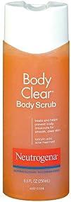 Neutrogena Body Clear Scrub 8.5 Fluid Ounce