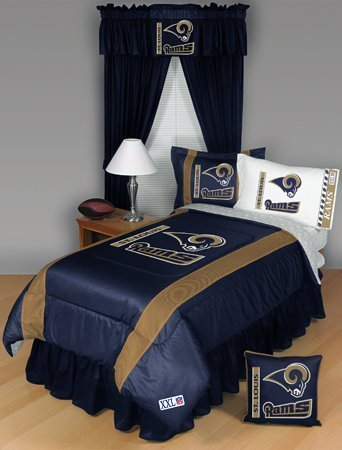 St. Louis Rams Twin Comforter Bedding New Nfl Boys Football