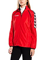Hummel Chaqueta Trainings Stay Authentic Micro (Rojo)