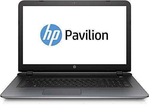 HP Pavilion 17-g010ng (N3X38EA) 43,9 cm (17,3 Zoll) Notebook (Intel Core i5-5200U, 2,7 GHz, 4 GB RAM, 500 GB SATA, Intel HD-5500, Windows 8.1 64) silber