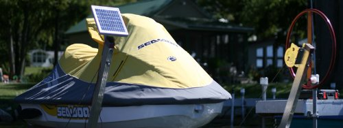 Boat Lift Solar Charge Kit 5W-12V