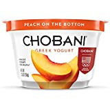 Chobani, Non Fat Greek Yogurt, Peach 5.3 oz