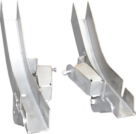 Replacement Rear Frame Section with Control Arm Mounts for Jeep Wrangler TJ (Both Right and Left Sides) (Rear Upper Control Arms Jeep Tj compare prices)