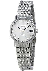 Longines Elegant White Dial Stainless Steel Ladies Watch L43094126