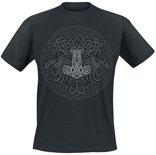 Celtic Viking Shield T-Shirt black