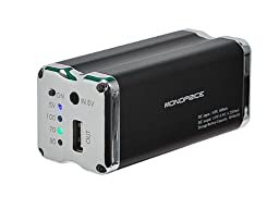 Monoprice109531 9000mAh USB External Battery Pack with Charger for iPad/iPhone/iPod - Retail Packaging - Black