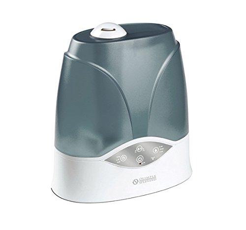 Olimpia Splendid 99580 Umidificatore Elettronico con Ionizzatore, Capacità 300 ml/h, Bianco/Grigio