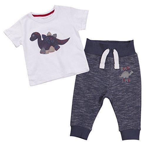 Bb-Garon-T-shirt-et-Joggeurs-Set-Dinosaures-Design-3-6Mm-Pour-18-24M
