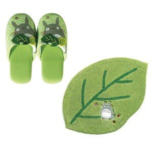 Hello SENKO (Senko) became my Neighbor Totoro accent mat / slippers (for adults) set ab