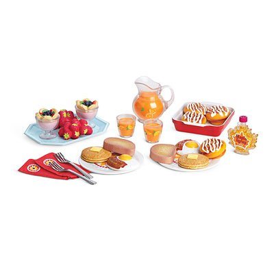 American Girl -  MY AG 2013 Delicious Breakfast Set - MY AG 2013 (American Girl Food compare prices)