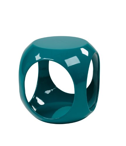 AVE SIX Slick Cube Occasional Table, Blue