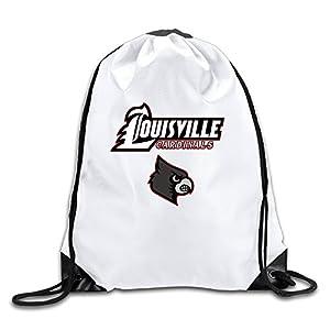 GYM Louisville Cardinals Logo Drawstring Backpack Bag