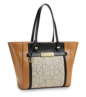 Simple Calvin Klein Womens Brynn Suede Carryall Bag Smoke For