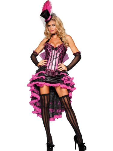 Burlesque Beauty Costume - X-Small - Dress Size 0-2