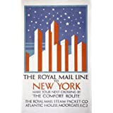 The Royal Mail Line to New York (Print On Demand)