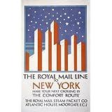 The Royal Mail Line to New York (V&A Custom Print)