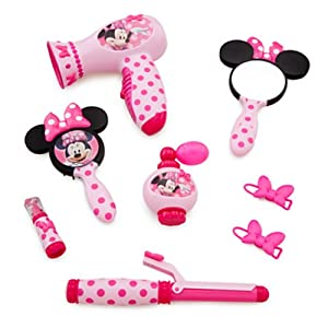 Minnie Mouse Beauty Set Real Hair Dryer Sound Amazon Co