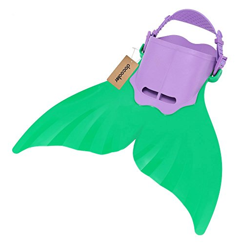 Docooler® Kid Children Mermaid Swim Fin Diving Monofin Swimming Foot Flipper (Mermaid For Kids)